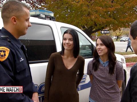 Salt Lake City sisters reunite with hero cop