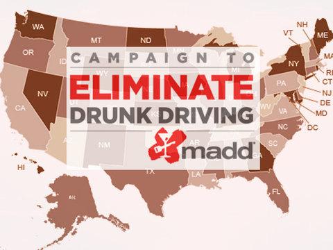 Drunk driving statistics by U.S. state - MADD