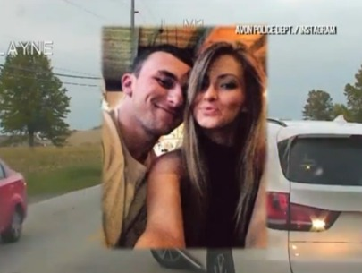 Johnny Manziel's ex claims he threatened to kill her