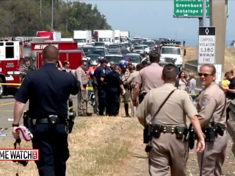 Good Samaritans save CHP officer run over by fugitive ex-convict