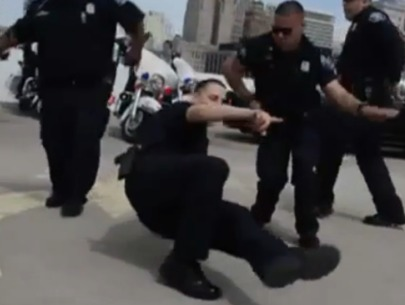 Detroit police's 'running man' recruitment video goes viral