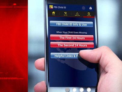 FBI app prepares parents in case kids go missing