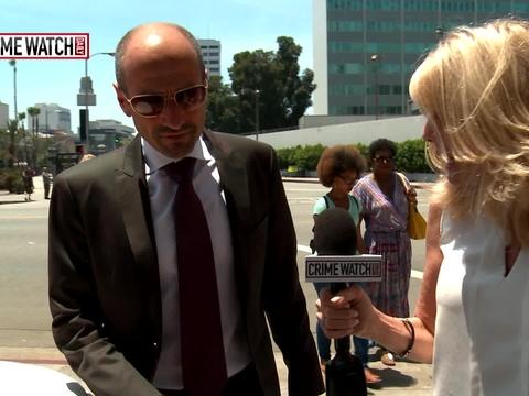 Mark Salling's attorney Dmitry Gorin speaks to…