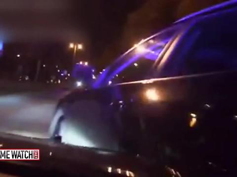 Dashcams capture dangerous traffic stop, car chase
